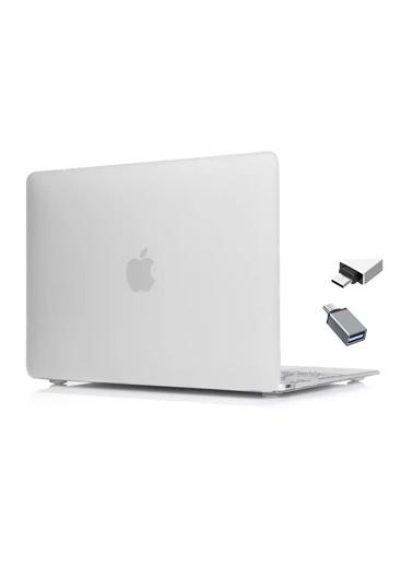 """Mcstorey MacBook Retina A1534 A1931 12"""" Kılıf Kapak Koruyucu Hard Incase Mat Renksiz"""